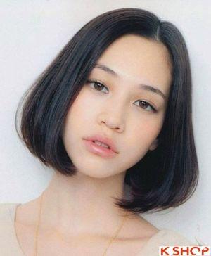 Những Kiểu tóc ngắn ngang vai uốn cụp đẹp Hàn Quốc