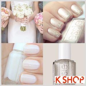 Những Mẫu nail móng tay cho cô dâu lộng lẫy trong ngày cưới tự tin