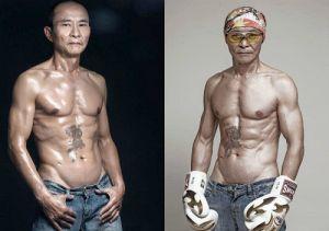 Ông già 61 tuổi khoe cơ bắp cuồn cuộn và ước mơ đua xe bất diệt
