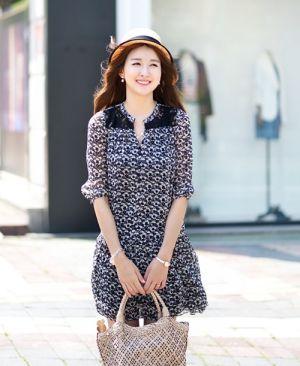 Váy đầm liền thân đẹp duyên dáng cho nàng công sở