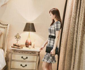 Váy đầm sọc caro nét thanh lịch đầy cá tính cho nàng