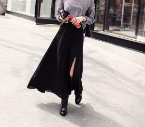 Chân váy xuyên thấu xẻ tà: trào lưu hot không thể bỏ qua