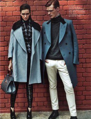 Cách phối đồ cho cặp đôi mùa đông thật tinh tế