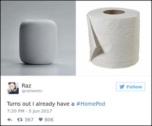 Cư dân mạng phản ứng hài hước về loa thông minh HomePod