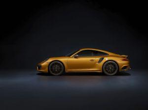 Porsche 911 Turbo S Exclusive được tăng thêm công lực và điều chỉnh ngoại hình
