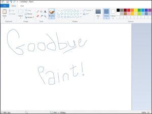 Cả thế giới đã hiểu lầm khi Khai tử Microsoft Paint