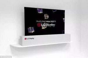 LG ra mắt chiếc TV 65 inch như một tấm áp phích
