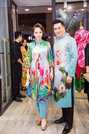 Việt Anh không sợ vợ ghen khi thân thiết với Đan Lê