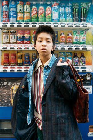 Cậu bé Nhật 15 tuổi với phong cách nổi loạn