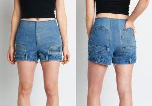 Phong cách quần jeans lộn ngược của Mỹ gây lạ lùng