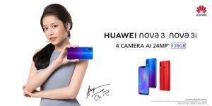 Ca sĩ Chi Pu - đại sứ chính thức của Huawei Nova 3 tại Việt Nam
