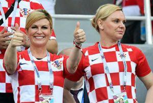 Phong cách thời trang của nữ tổng thống tại World Cup gây sốt