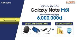 Giá Note 9 tại Việt Nam chênh lệch thế nào