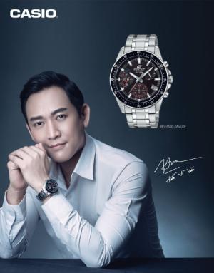 Thương hiệu đồng hồ Casio Ediffice do Hứa Vĩ Văn làm đại sứ