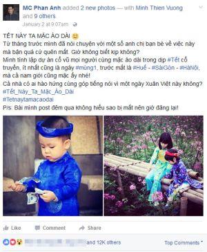 MC Phan Anh lại tạo sóng mạng xã hội
