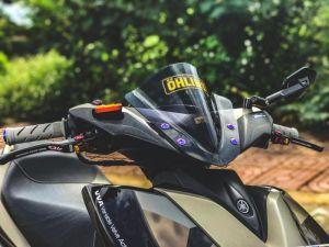 NVX 155 độ - màn lột xác táo bạo ở phong cách Camo của biker phố núi