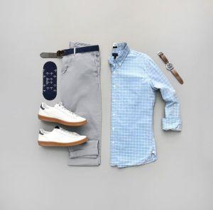 Gợi ý 4 set đồ phối áo sơ mi caro cho chàng đến công sở thêm thanh lịch trẻ trung