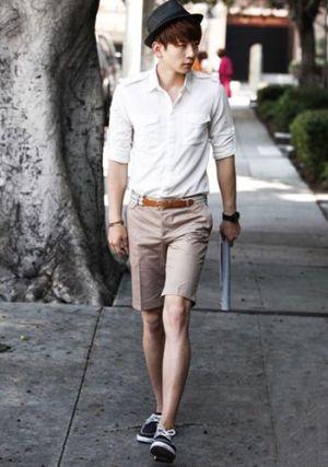 Hướng dẫn 7 cách phối quần short nam cho mùa hè năng động