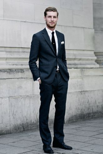 Phong cách thời trang qúy ông đích thực cần comple