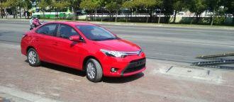 Toyota Vios 2014 chưa ra mắt đã về đến showroom Sài Gòn