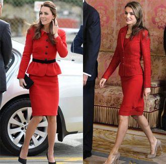 Gay cấn Hoàng hậu Tây Ban Nha đọ phong cách với Công nương Anh