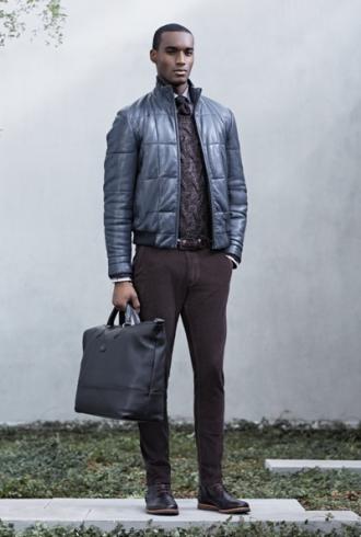Thời trang Hugo Boss ra mắt thiết kế mùa đông cho chàng ấm áp