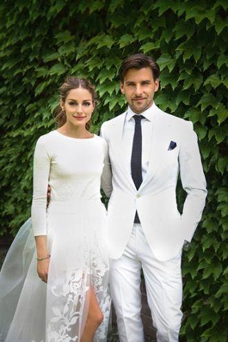 Cách gây ấn tượng của sao bằng Áo cưới độc đáo