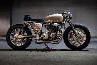 Honda CB750 độ Cafe Racer chất và hoàn hảo đến từng chi tiết