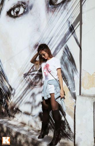 Phong cách Street style bụi bặm của nữ rapper Suboi cá tính