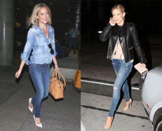 Phong cách thời trang dạo phố phóng khoáng của Kate Hudson mạnh mẽ