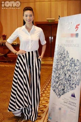 Thời trang quần váy được sao Việt lăng xê