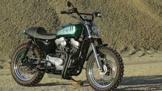 Harley-Davidson Sportster độ Scrambler mạnh mẽ của Nữ nhà báo