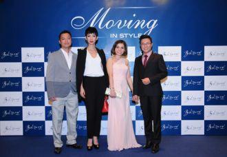 Phong cách 'Moving in style' - tiệc thời trang của doanh nhân giàu có