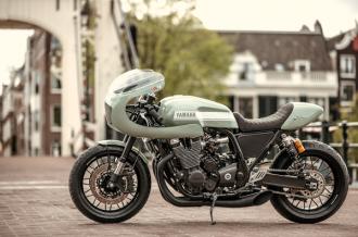 Yamaha XJR1300 độ Cafe racer của xưởng độ Numbnut Motorcycles