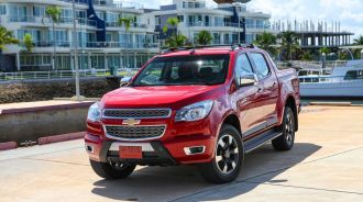 Chevrolet Colorado High Country: Đối thủ của Ford Ranger Wildtrak