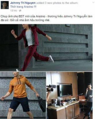 Diễn viên Johnny Trí Nguyễn là đại sứ thương hiệu thời trang Aristino