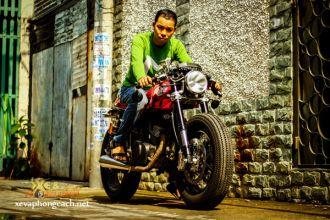 Honda CB 125T mạ chrome với phong cách Cafe Racer cực chất tại Sài Thành