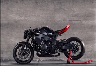 Honda CBR1000RR lột xác hoàn toàn với phong cách StreetFighter