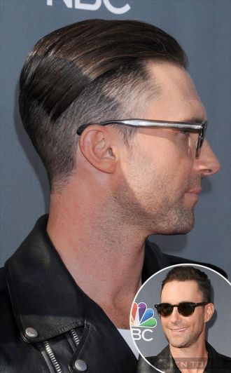Những kiểu tóc mới cực ấn tượng của Adam Levine cá tính