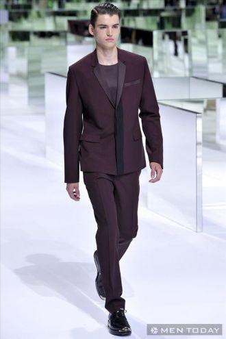 Phong cách thời trang nam xuân hè từ Dior Homme cá tính