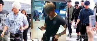 Thời trang sân bay bốn mùa của Big Bang độc đáo