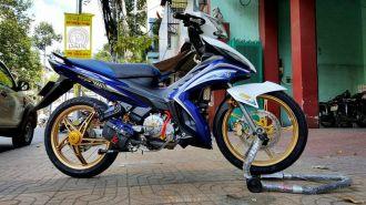 Yamaha Exciter 135 độ dàn chân ấn tượng