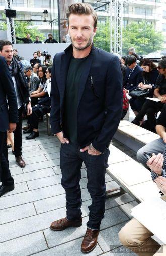 Anh Becks và dàn sao tham dự show thời trang Louis Vuitton đẳng cấp