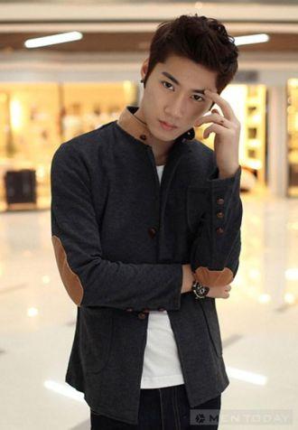 BST áo khoác ngắn lịch lãm cho teen boy cá tính