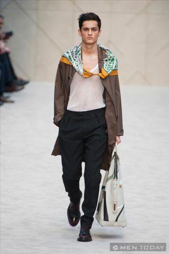BST thời trang nam từ Burberry Prorsum | LCM độc đáo