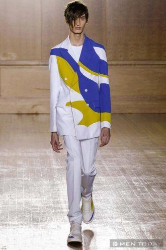 BST thời trang nam xuân hè của Alexander McQueen cá tính
