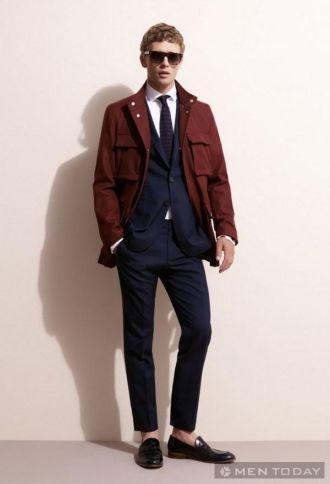 BST thời trang nam xuân hè của Tommy Hilfiger Tailored tự tin