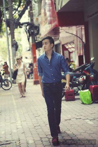 Cách chọn trang phục nam tính từ Lương Mạnh Hải thanh lịch