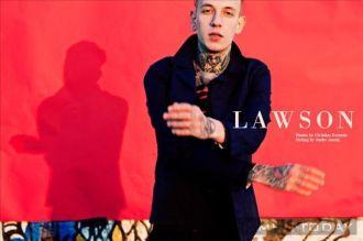 Cách phối đồ nam cá tính và sành điệu như Lawson Taylor