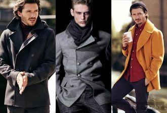 Mẫu nam Pea coat và 4 cách phối đồ nam ấm áp